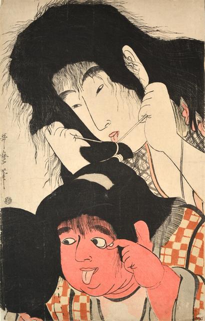 Kitagawa Utamaro, 'Yamauba and Kintaro', ca. 1795, Ronin Gallery