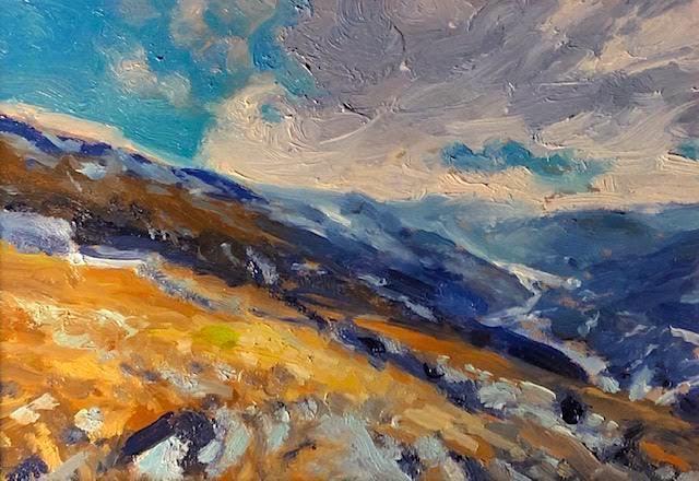 Richard Rosenblatt, 'The Wild Mountain', 2020, Painting, Oil, The Galleries at Salmagundi