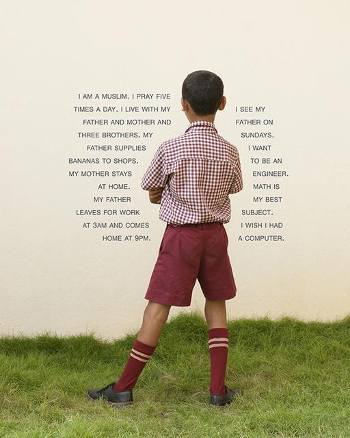Judy Gelles, 'India: English Speaking Private School (Boy)', 2013, Pentimenti Gallery