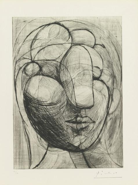 , 'Sculpture. Tête de Marie-Thérèse,' 1933, John Szoke