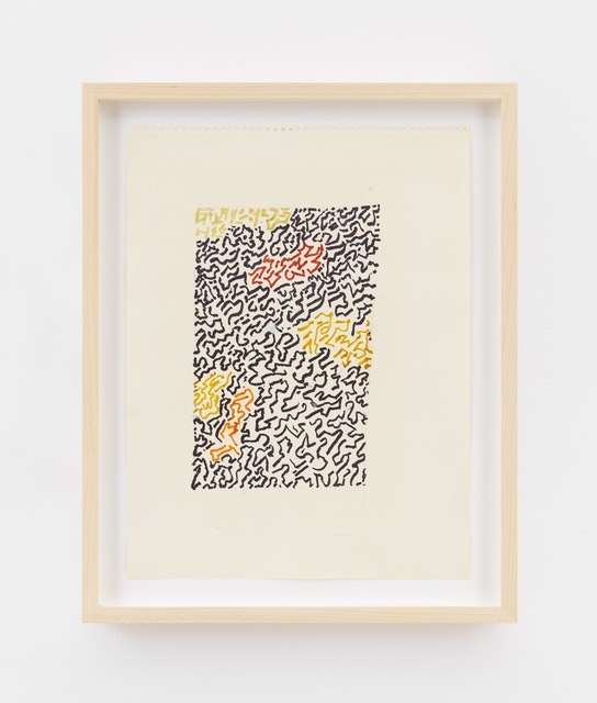 , 'Design (black and brown),' ca. 1980, David Zwirner