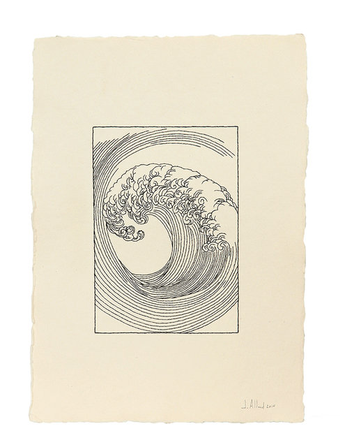 , 'Mori Yuzan Wave I,' 2018, Artscoops