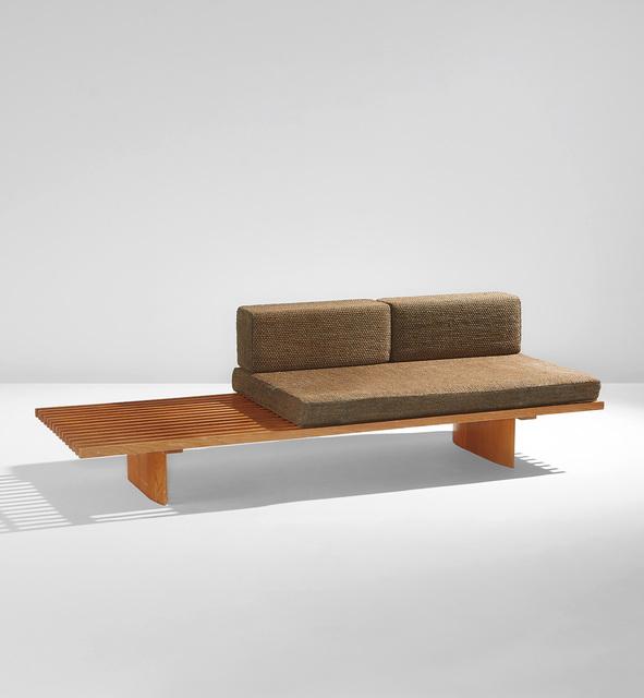 "Charlotte Perriand, '""Tokyo"" bench', circa 1956, Phillips"