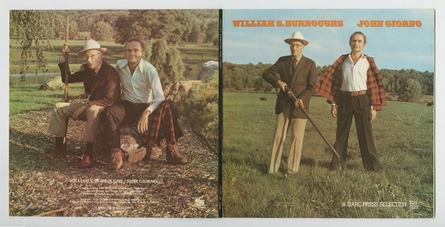 , 'William S. Burrough and John Giorno : A d'Arc Press Selection GPS 006-007,' 1975, Palais de Tokyo