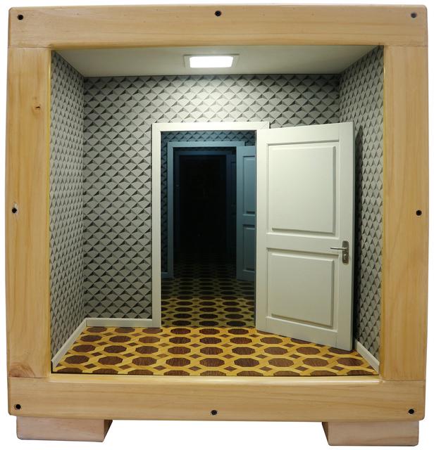, 'La caja vacía #3,' 2017, Fernando Pradilla/El Museo