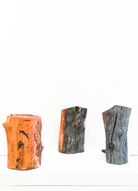 , 'Untitled (Three Logs),' 2012, Burning in Water