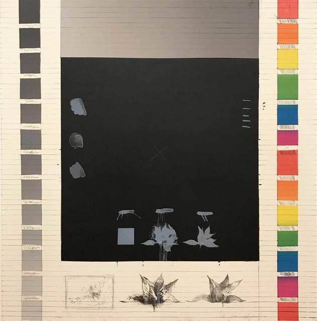 Pat Steir, 'Wish No. 3 Transformation', 1974, Print, Color lithograph on ivory colored vellum, Galerie Kellermann