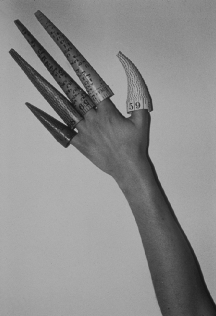 , 'Cones on Fingers,' 1979-1995, Barbara Gross