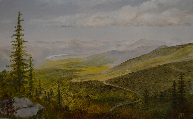 Julie J. McGowan, 'View from Whiteface', 2019, The Galleries at Salmagundi