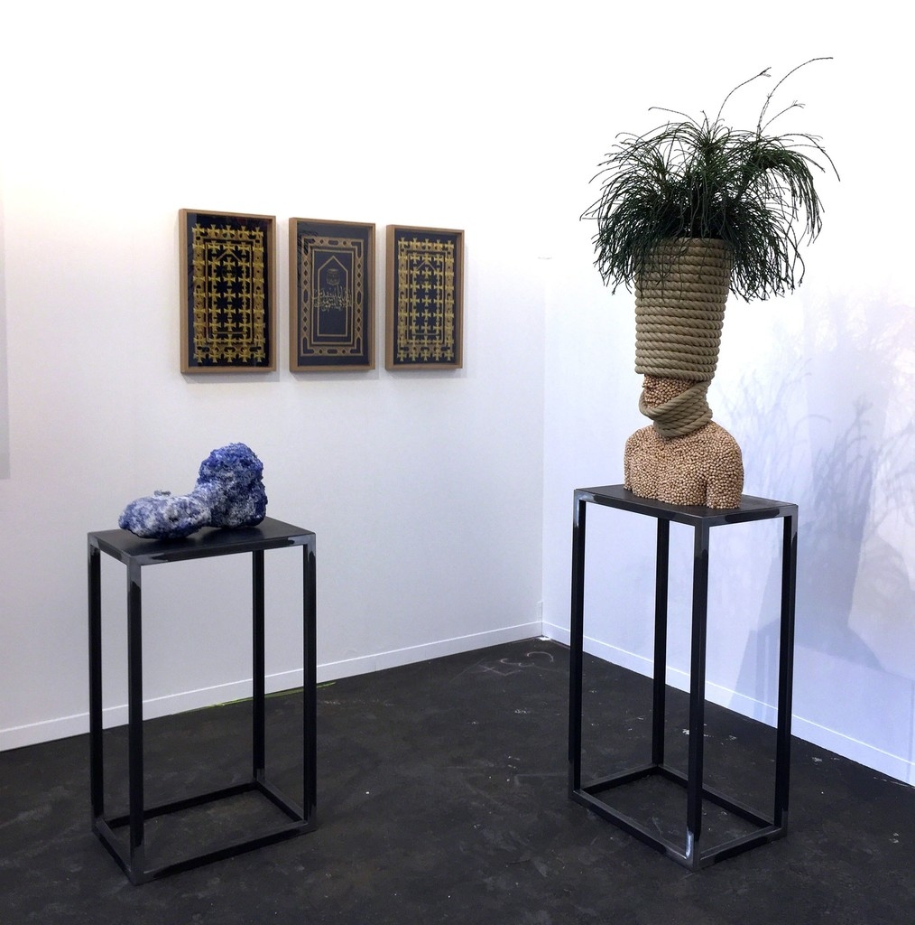 Mehdi-Georges Lahlou, three works in booth C37