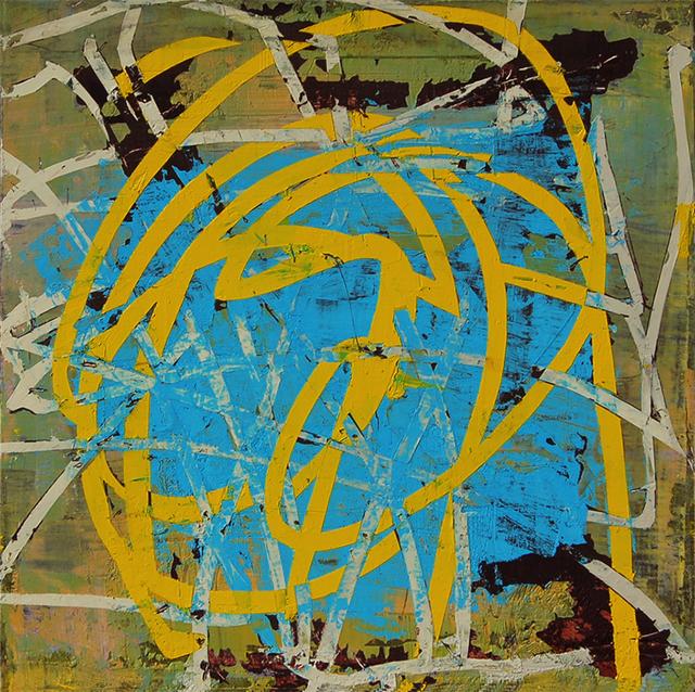 , 'Yellow Streak,' 2014, Kathryn Markel Fine Arts
