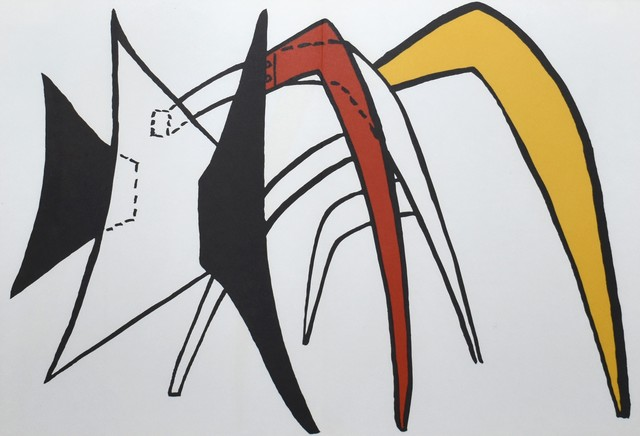 Alexander Calder, 'Derriere le Miroir #141 (Plate 5)', 1963, Georgetown Frame Shoppe