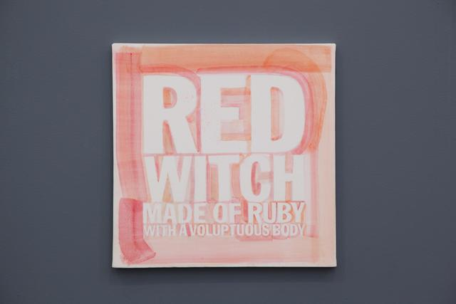 , 'RED WITCH MADE OF RUBY WITH A VOLUPTUOUS BODY,' 2012, Almine Rech