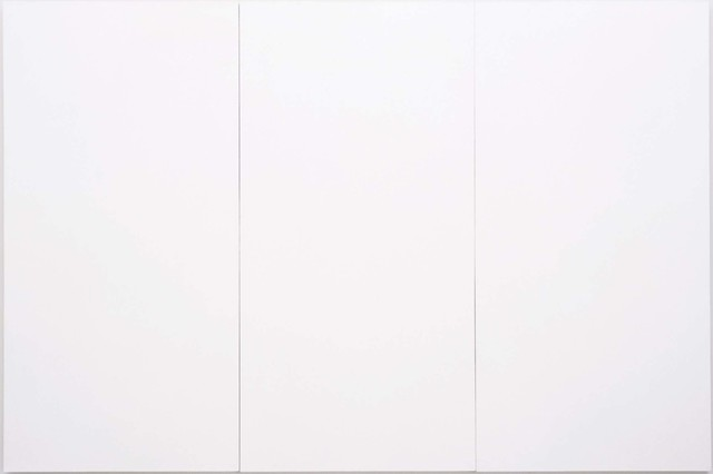 Robert Rauschenberg, 'White Painting [three panel]', 1951, Robert Rauschenberg Foundation