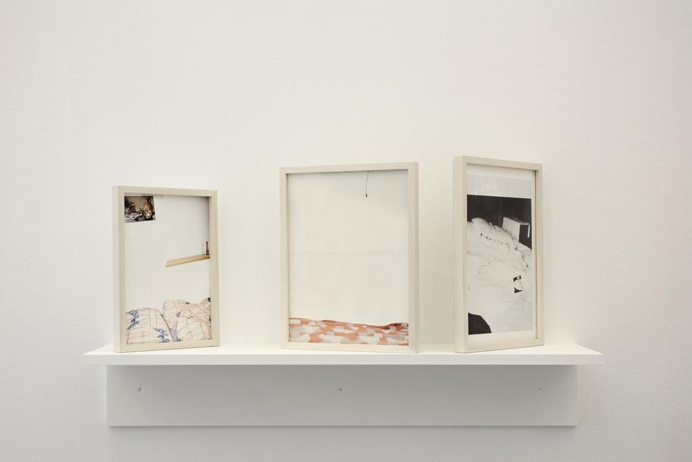 Installation shot with 'ONS, Maik und Lutz', 'ONS, Gaybi 1' and 'ONS, Steven'  by Jan-Holger Mauss; photo: Jürgen Baumann