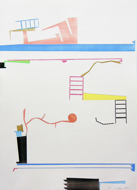 , 'Happy Plan 4,' 2018, Bruno David Gallery & Bruno David Projects