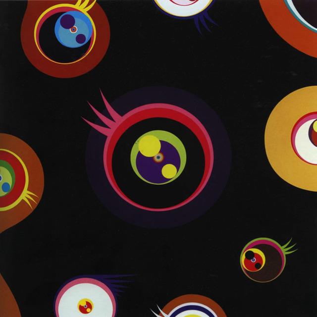 Takashi Murakami, 'Jellyfish Eyes (Black I), ', 2004, Rosenfeld Gallery LLC