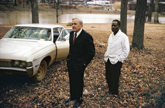 , ' Untitled, 1969 - 70 (the artist's uncle, Ayden Schuyler Senior, with Jasper Staples, in Cassidy Bayou, Sumner, Mississippi) ,' 1969-1970, National Portrait Gallery