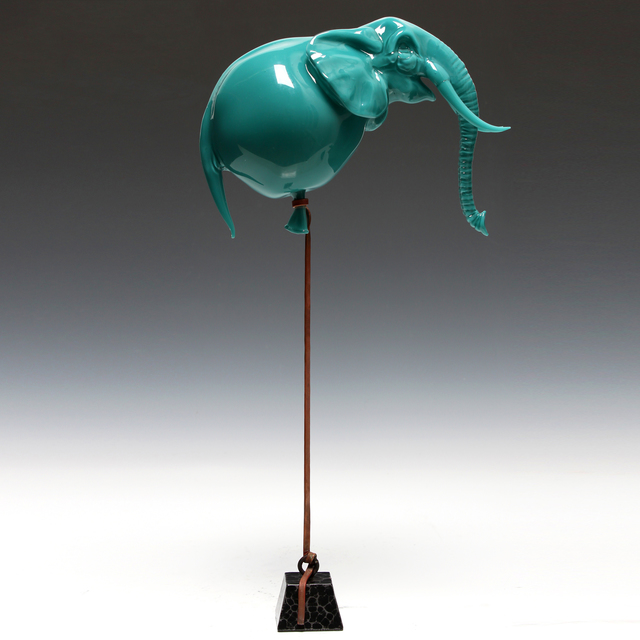 , 'Blue Elephant Balloon,' 2015, Chesterfield Gallery