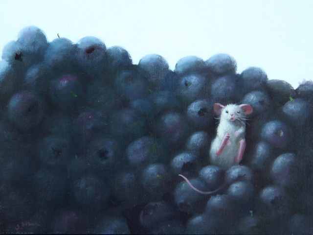 Stuart Dunkel, 'Nesting', 2019, Painting, Oil on board, Shain Gallery