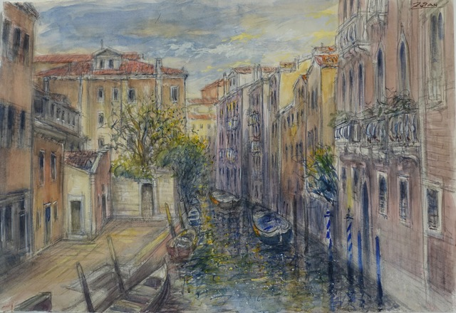 , 'Interior Canal, Venice,' 2018, Galerie d'Orsay