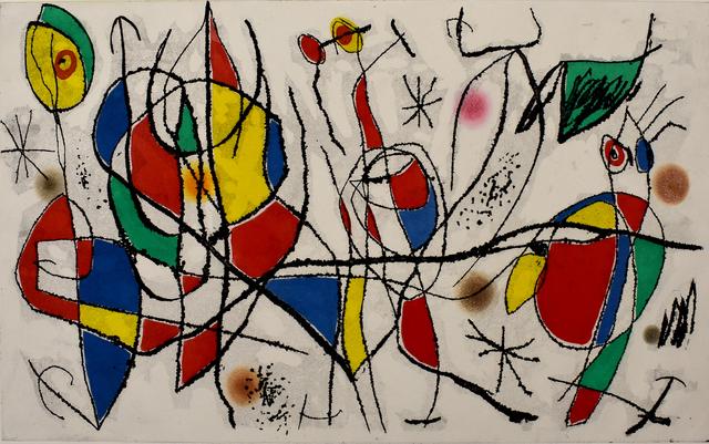 Joan Miró, 'The Sunday Guest I | L'invitée du dimanche I', 1969, Gilden's Art Gallery