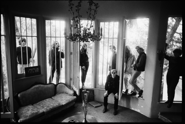 , ' Andy Warhol and the Velvet Underground, Hollywood Hills, Los Angeles, 1966,' 1966, Monroe Gallery of Photography