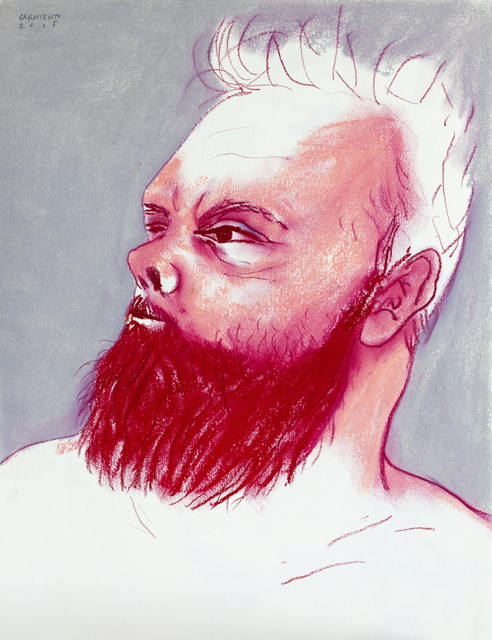 , 'Beard Power (self-portrait),' 2015, Cuban Contemporary