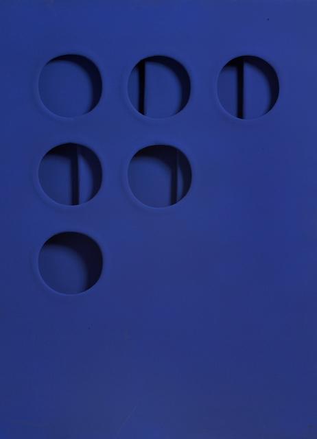 , 'Intersuperficie curva dal blu (Curved Intersurface from Blue),' 1966, Robilant + Voena