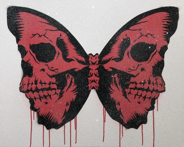 , 'Skullerfly (Red),' 2018, Imitate Modern