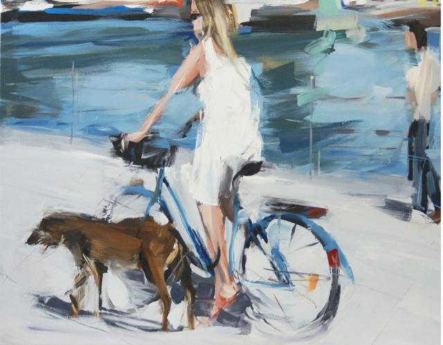 , 'Unterm Brücke,' 2018, Galerie Barbara von Stechow