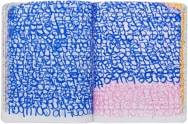 , 'Daily Journal Composition Book,' 2016, Western Exhibitions