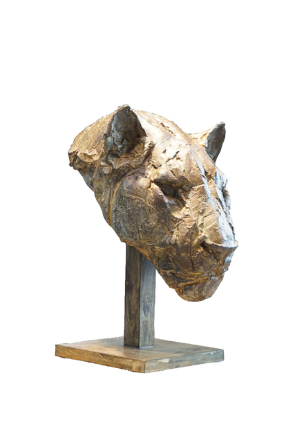 , 'Masque de panthère,' 2019, Galerie Bayart