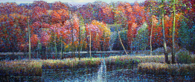 , 'Oxtongue Lake,' , Wallace Galleries