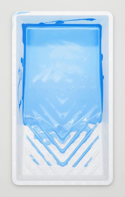 , 'Paint Tray (Sky Blue),' 2018, Lyons Wier Gallery
