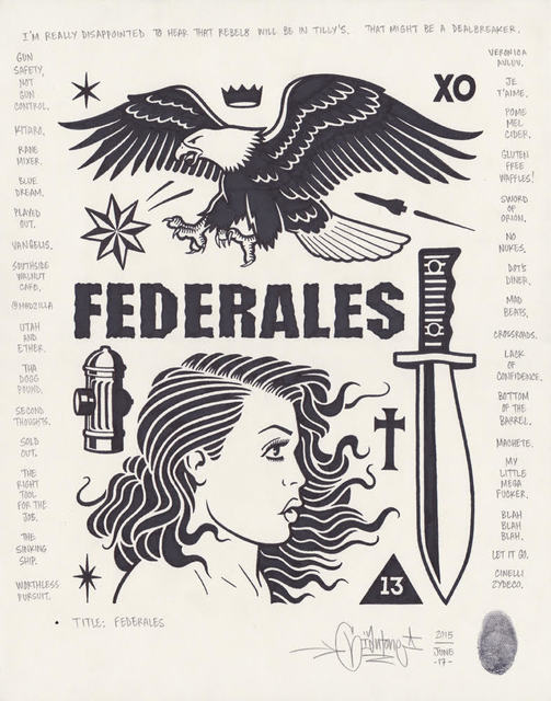 , 'Federales,' 2015, Black Book Gallery