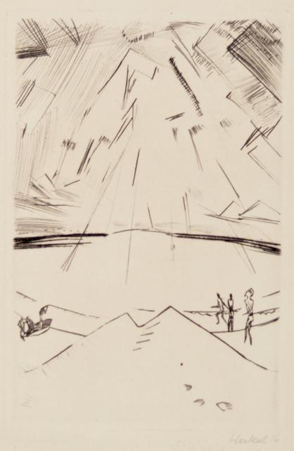, 'Ocean at Ostende,' 1916, Galerie St. Etienne