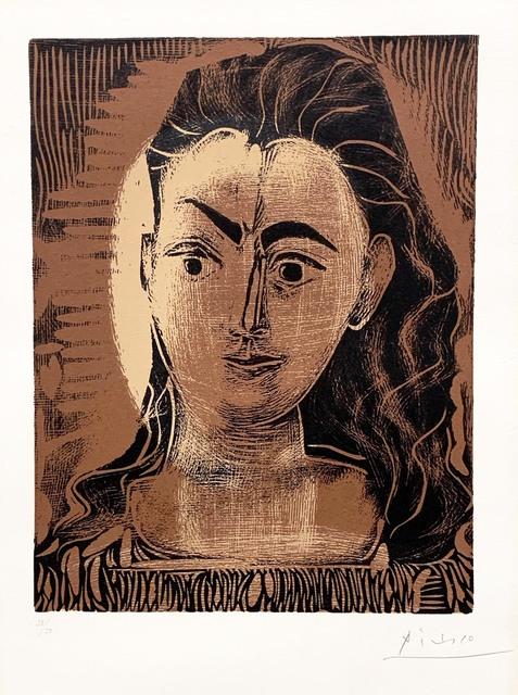 , 'Petite Buste de femme (Small Portrait of a Woman),' 1962, R. S. Johnson Fine Art