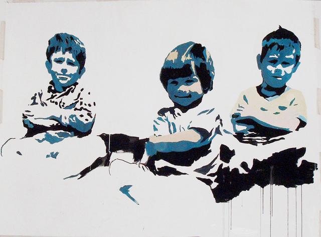 , 'When we were kids,' 2010, White Noise Gallery