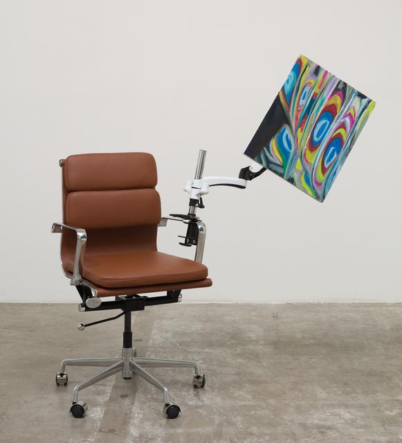 , 'Chair with Mount,' 2019, Luis De Jesus Los Angeles