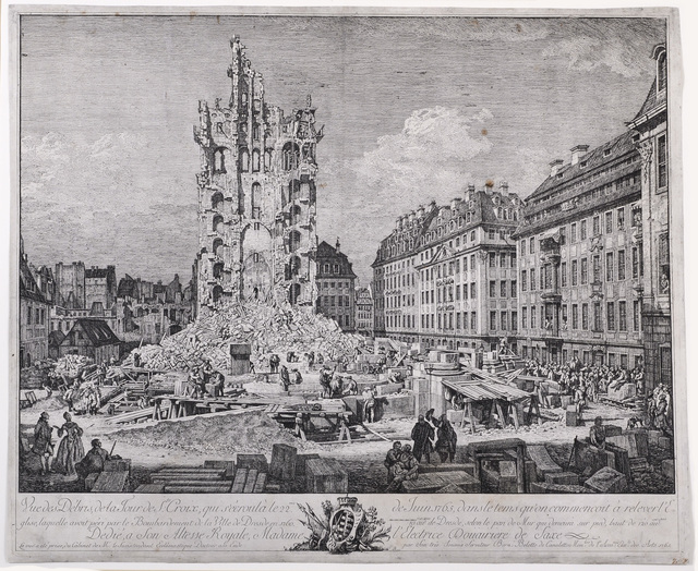 , 'The Ruins of the Old Kreuzkirche, Dresden,' ca. 1765, David Tunick, Inc.