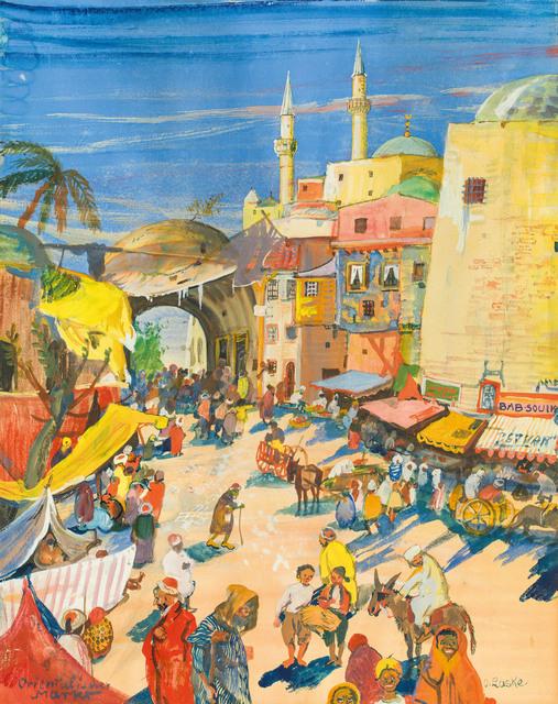 Oskar Laske, 'Oriental Market', 1913, Galerie Kovacek & Zetter
