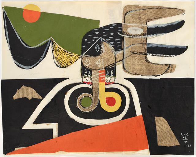 , 'Bull,' 1963, Galerie Zlotowski
