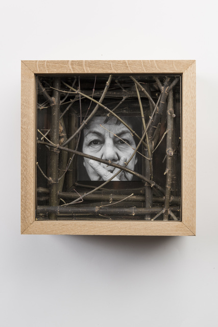 , 'Wooden and Stainless Steel Box with Face and Hands No.4,' 2018, Gazelli Art House