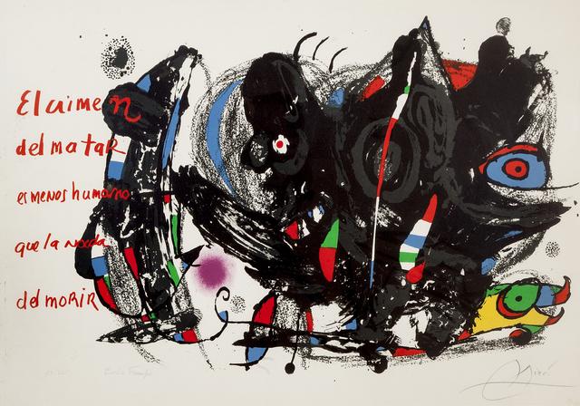Joan Miró, 'Poemas para Mirar', 1976, Kogan Amaro