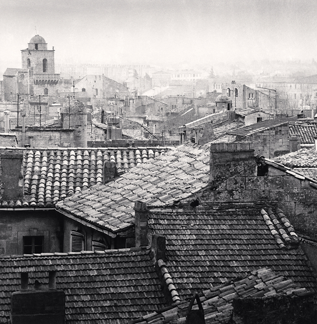 , 'Rooftop View, Arles,' 1987, Robert Mann Gallery
