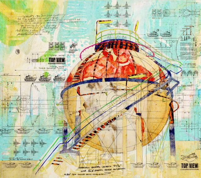 Waseem Marzouki, 'Platform-34.532298,69.153442,' 2014, Meem Gallery