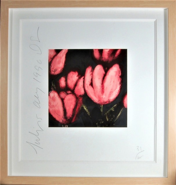 Donald Sultan, 'Flower', 1990, Joseph Grossman Fine Art Gallery