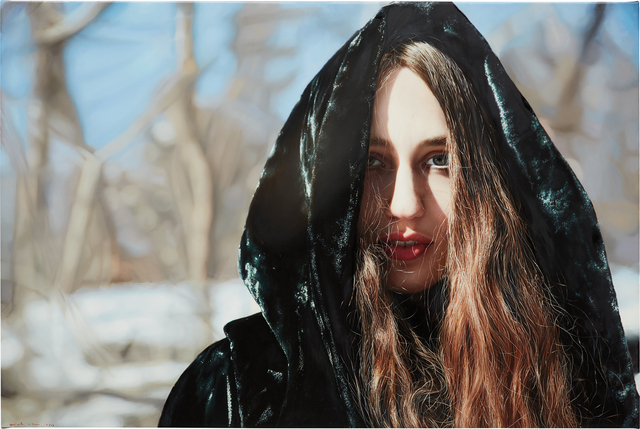 Yigal Ozeri, 'Lizzie in Snow', 2013, Phillips