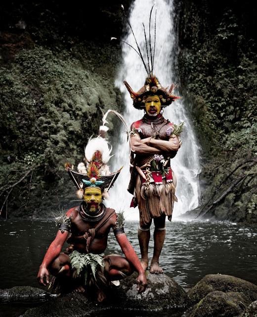 , 'XV 465 Huli Wigmen Ambua Falls, Tari Valley Papua New Guinea, 2010,' 2010, WILLAS Contemporary